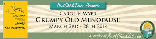 Grumpy Old Menopause – Carol E. Wyer Blog Tour & Giveaway!