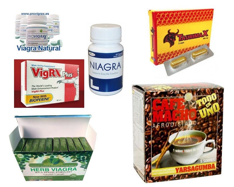 Viagra herbal, Taurimax, Café Macho y otros estimulantes sexuales supuestamente naturales