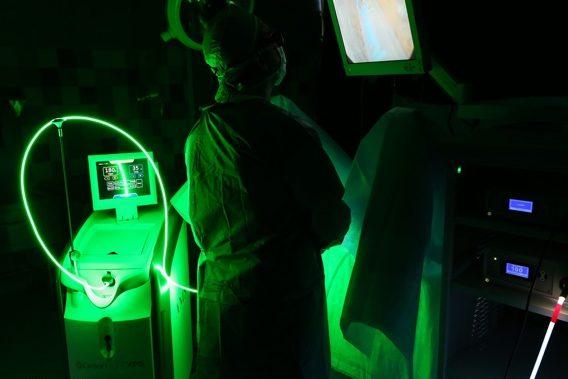 ¿En qué consiste la cirugía de próstata con láser verde? ¿Cuáles son sus ventajas?