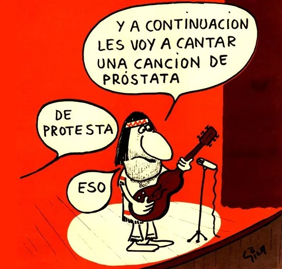 humor protesta