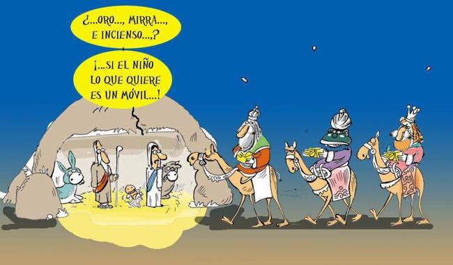Humor el día de Reyes