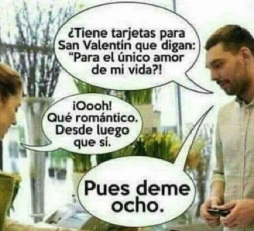 humor san valentin