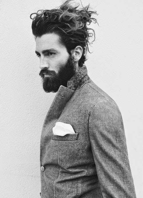 Men Ponytail Hairstyles 11