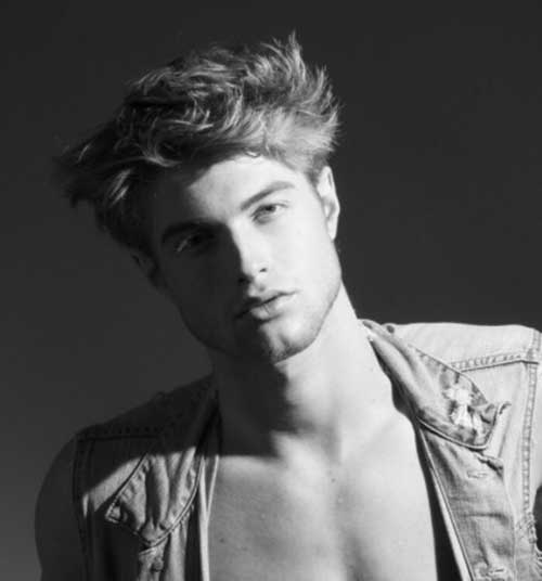 Cool Messy Hairstyles For Men Mens Hairstyles 2018