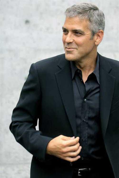 20 George Clooney Hair Mens Hairstyles 2018
