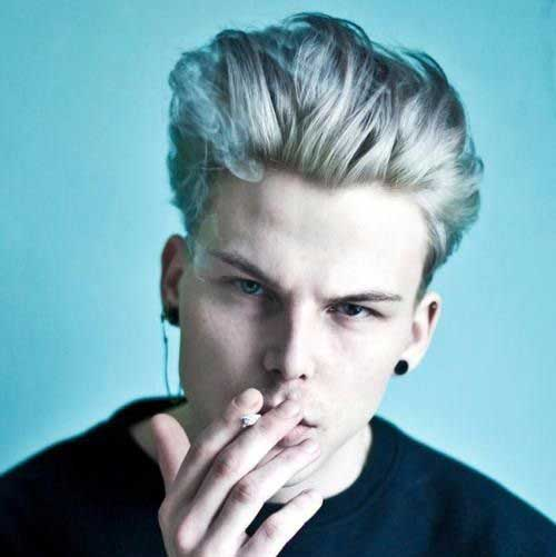 20 Male Hair Color Mens Hairstyles 2018