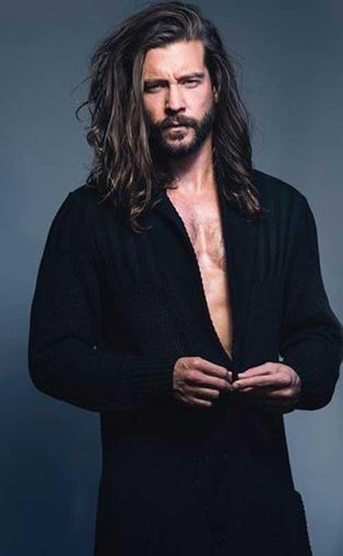 25 Long Hairstyles On Men Mens Hairstyles 2018