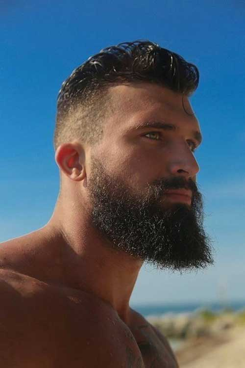 Striking Beard And Hairstyles For Men Mens Hairstyles 2018