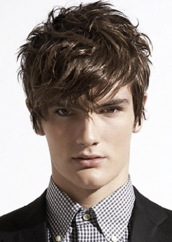 2011 Mens Hairstyle Brit-rock Indie Haircut