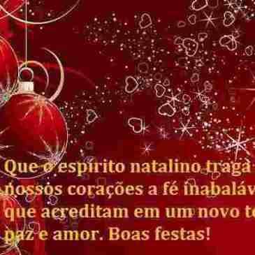 mensagem de Natal e ano novo especial para enviar facebook