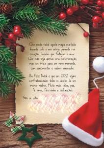 feliz natal com muita alegria