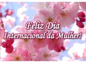 linda mensagem feliz dia internacional da mulher