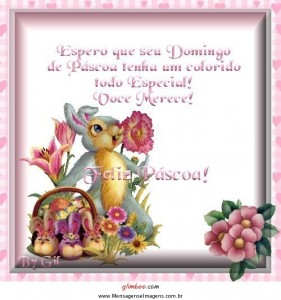 tenha uma Feliz Páscoa neste domingo maravilhoso