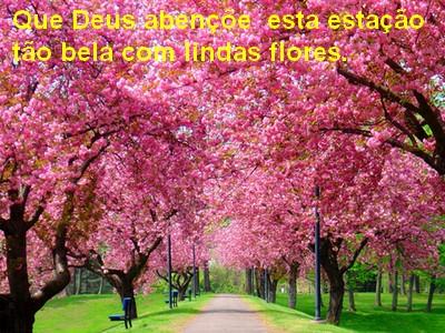 tenham todos uma feliz e maravilhosa primavera