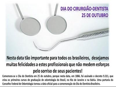 parabens e feliz dia do profissional dentista