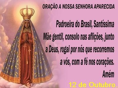 nossa senhora padroeira do Brasil