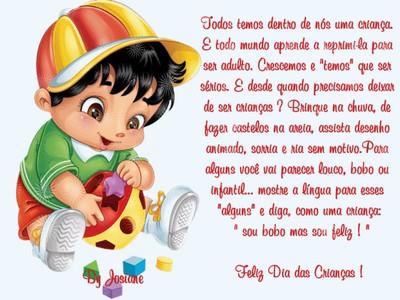 feliz dia das criancas meus amores
