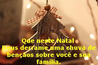 mensagem com feliz natal linda em video