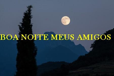 mensagem boa noite meus amigos queridos