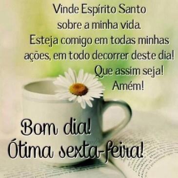 bom dia feliz sexta feira com muitas bençãos de Deus