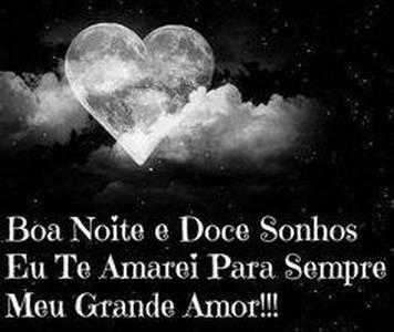 boa noite meu amor mensagens lindas