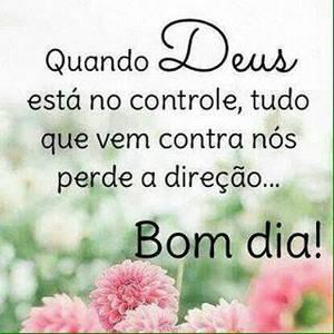 bom dia especial de Deus