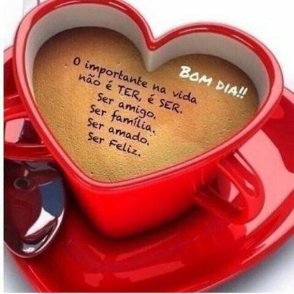 mensagem carinhosa de bom dia com amor