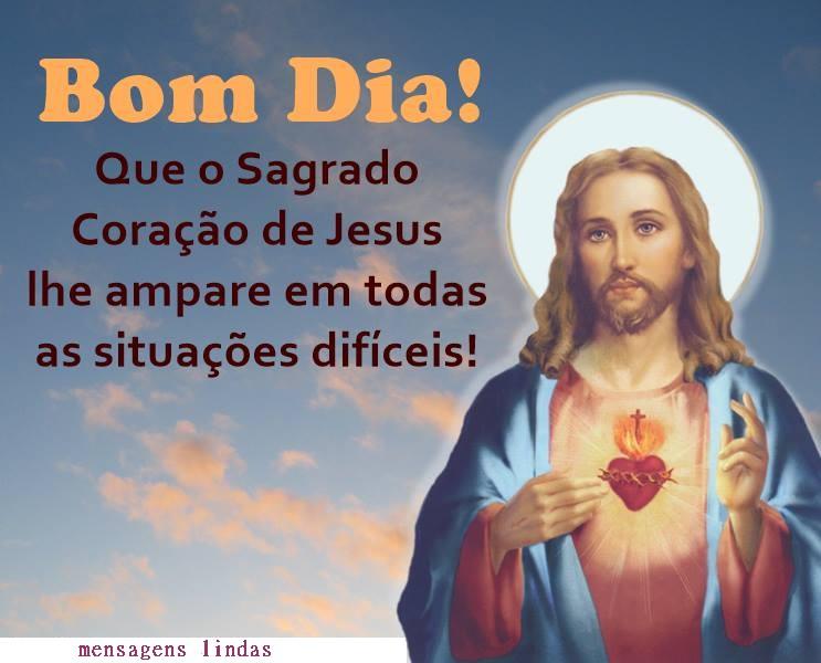 bom dia-sorria pois jesus te ama