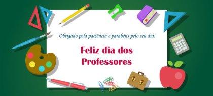 feliz dia do professor - mensagem com carinho