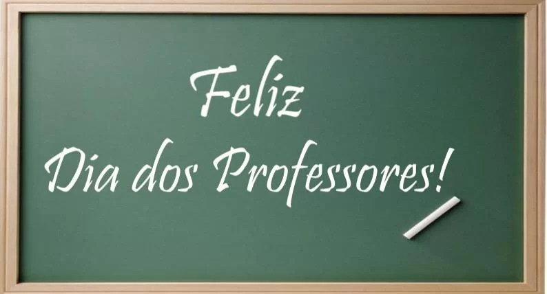 15 de outubro feliz dia do professor
