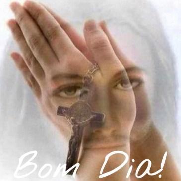 mensagem de bom dia com Jesus no coração
