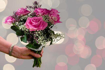 mensagem de bom dia com flores para whatsapp
