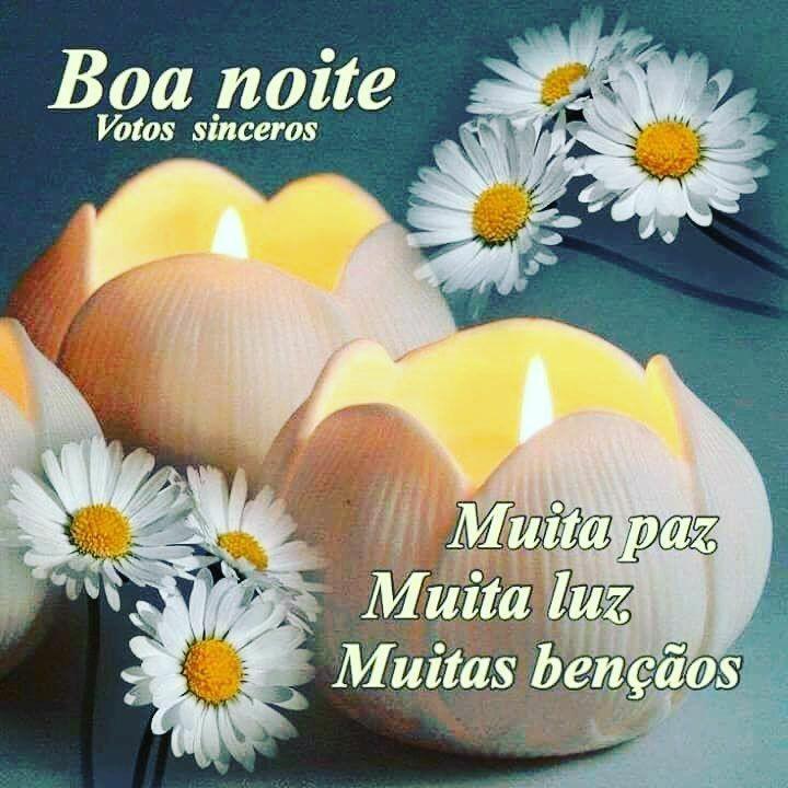 Mensagem De Boa Noite Evangélica Com Flores Boa Noite Cristao