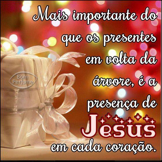 Feliz Natal com a presença de Jesus