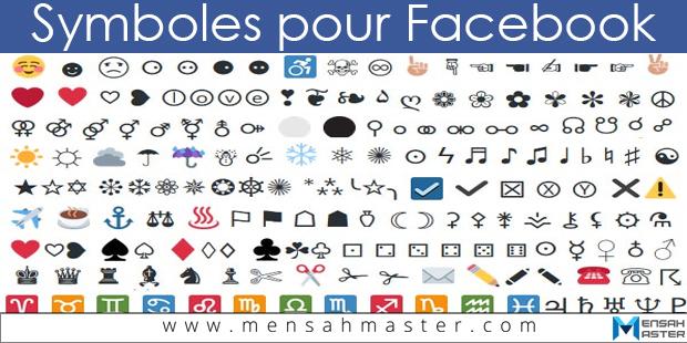 Symbole Facebook