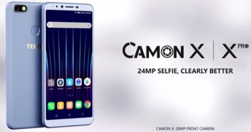 le camon x de tecno performance