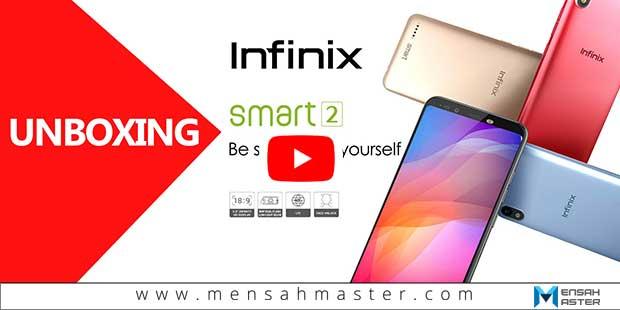 Vidéo-de-déballage-(Unboxing) Infinix SMART 2