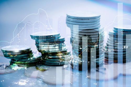 Marché-boursier-et-concept-de-technologie-de-graphique-de-trading