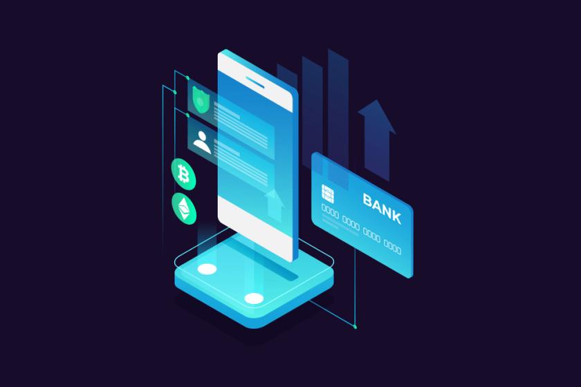 Concept de paiement mobile carte de credit