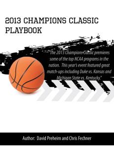 2013 Champions Classic