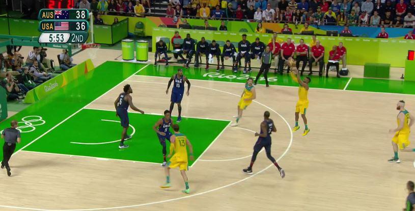Rio Olympics – Australia Set Plays vs. USA