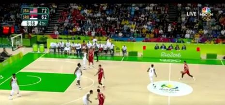 Rio Olympics – Serbia Offense vs. USA