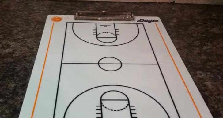 basketball coach clipboard