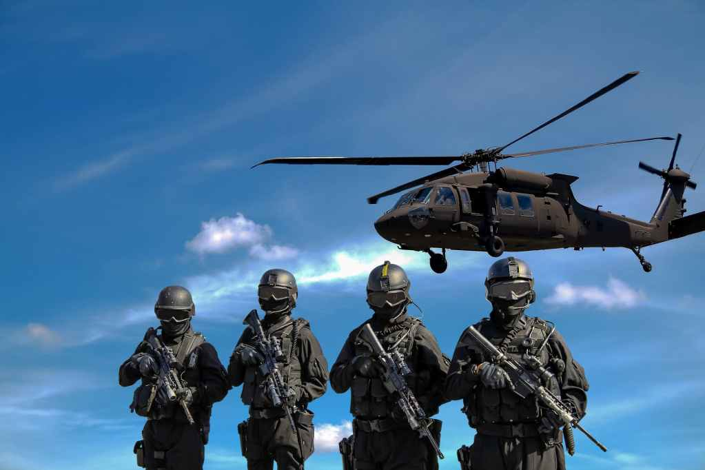 police army commando special task force