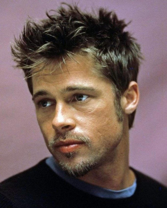 120 handsome brad pitt hair ideas