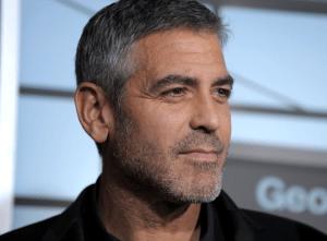 Clooney stubble