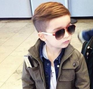 Stylish Little Boys Cool Haircut PhotosJPG