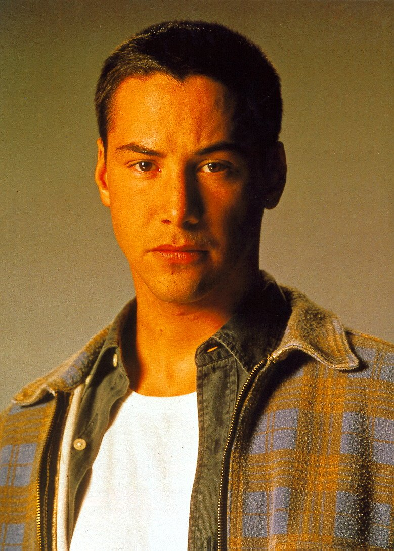 Keanu Reeves With Very Short Hair Style 1 Comment Hi Res
