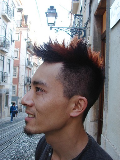 Mens Punk Rock Hairstylesjpg 1 Comment