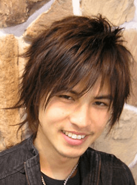 Trendy Asian Men Hairstyle With Full Of Sexy Layers And